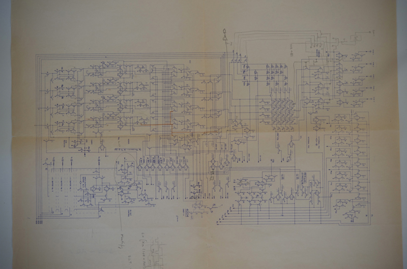 Original Schematics Of The Intel 4004 Microprocessor
